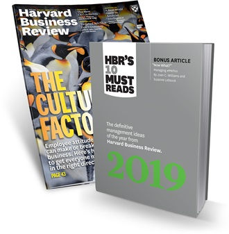 Harvard Business Review - The Culture Factor
