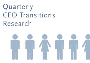 Quarterly CEO Transitions Research