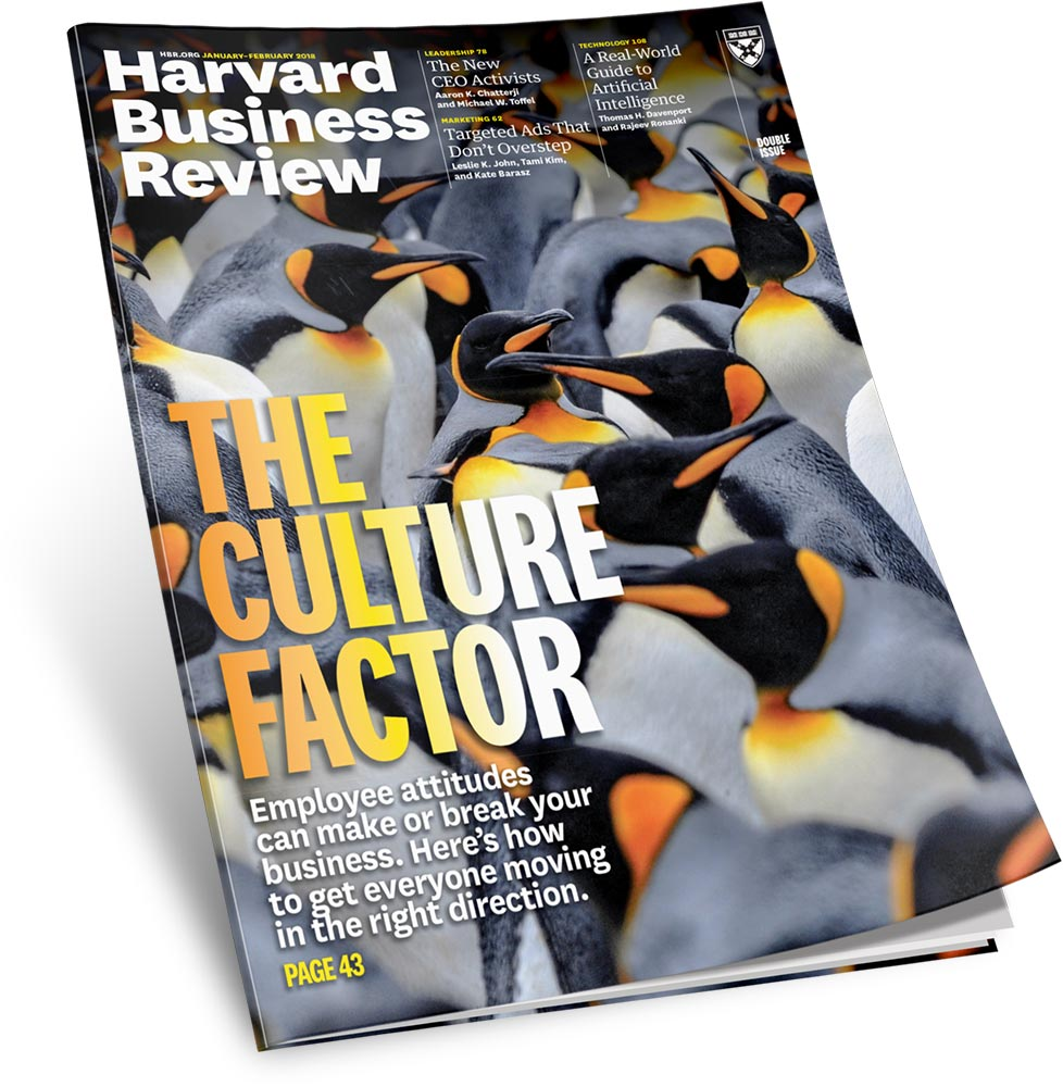 Harvard Business Review   The Culture Factor