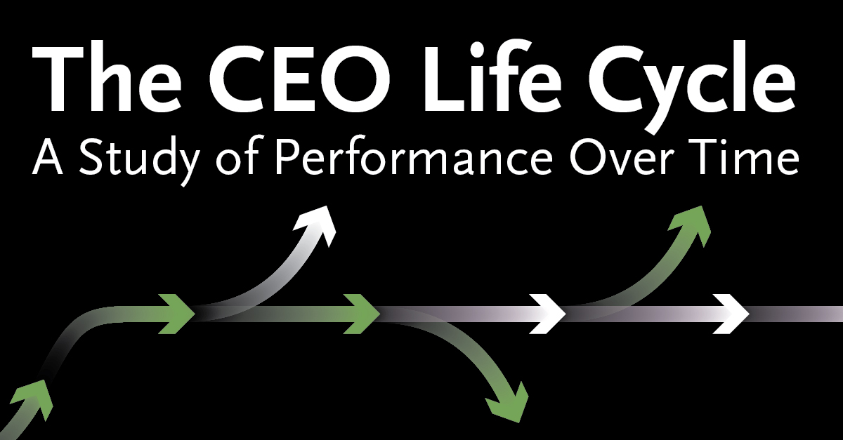 The CEO Life Cycle: A Study of Performance over Time